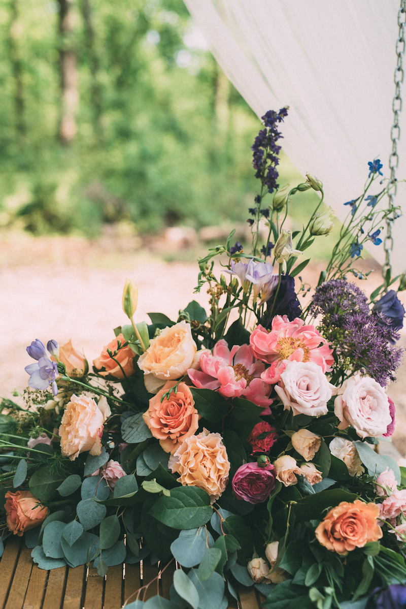 backyard bohemian wedding every last detail feature ashton events