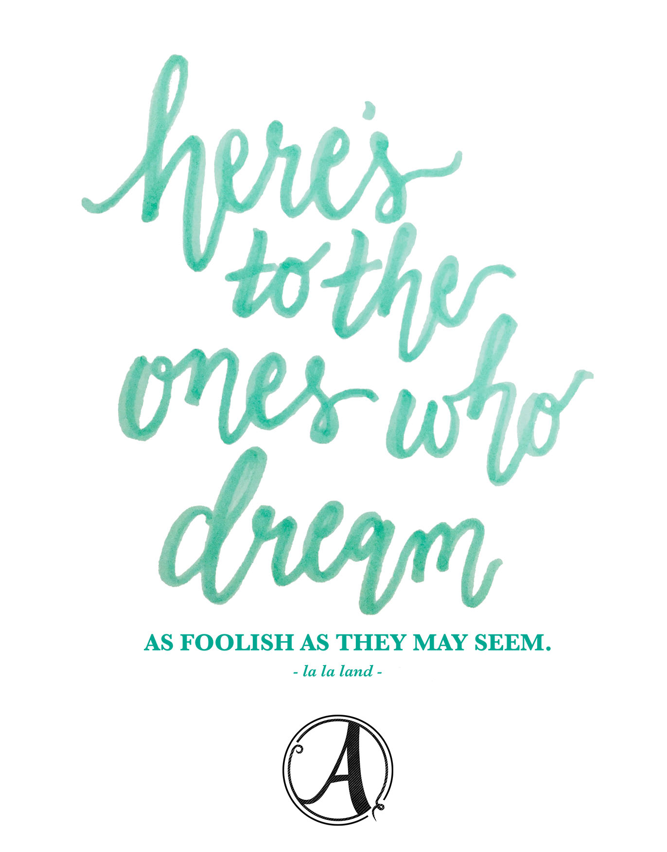 2017: Here's to the ones who dream