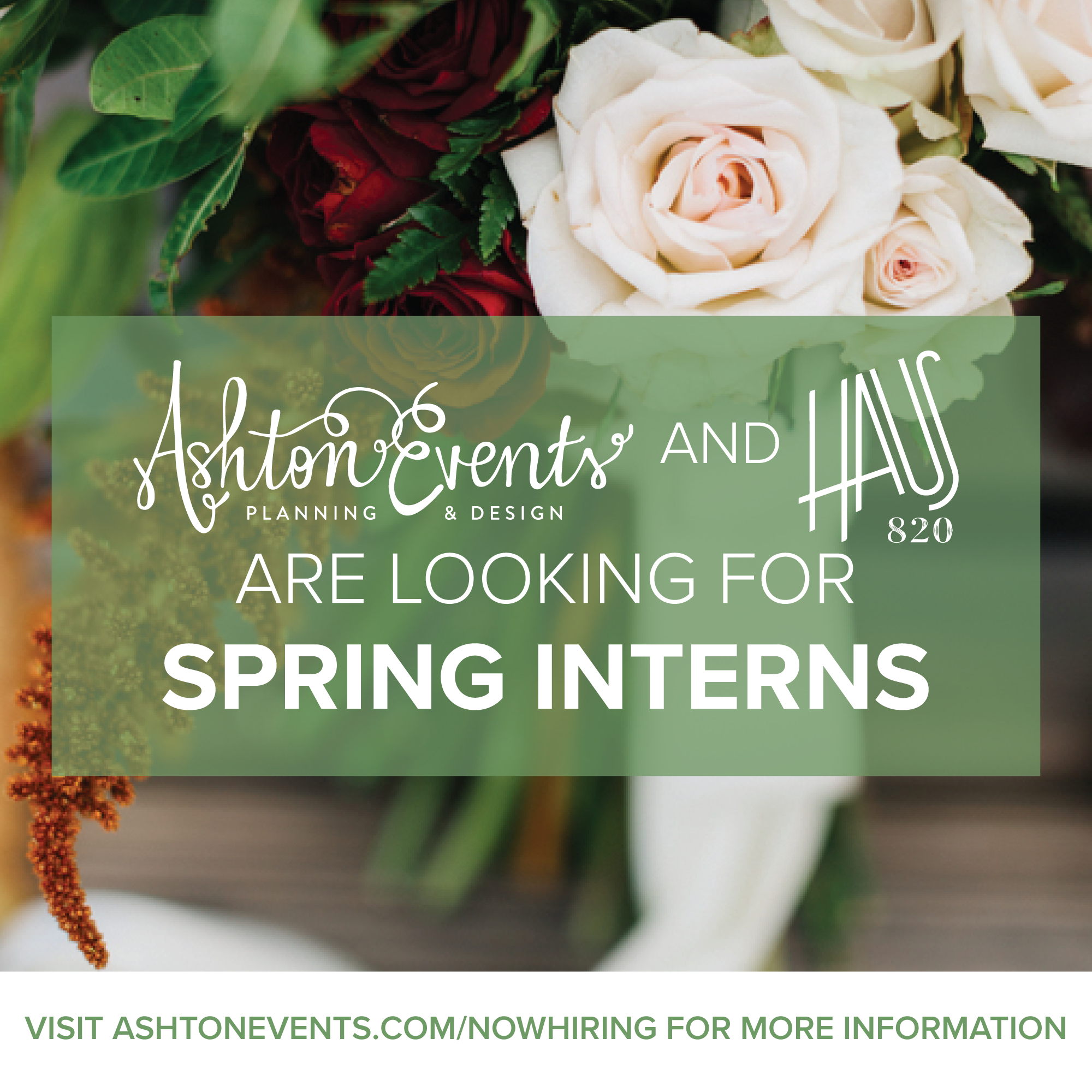 We're Hiring! Spring 2018 Internships