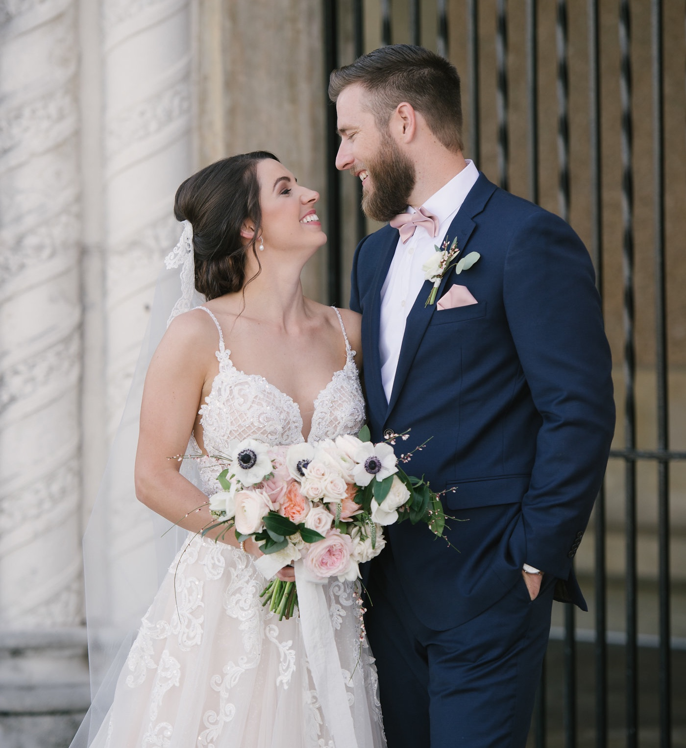 Kalyn + Joey's Romantic Lake Mirror Wedding
