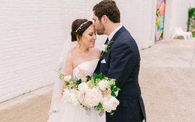 Victoria + Jonathan's Southern Garden Inspired Wedding