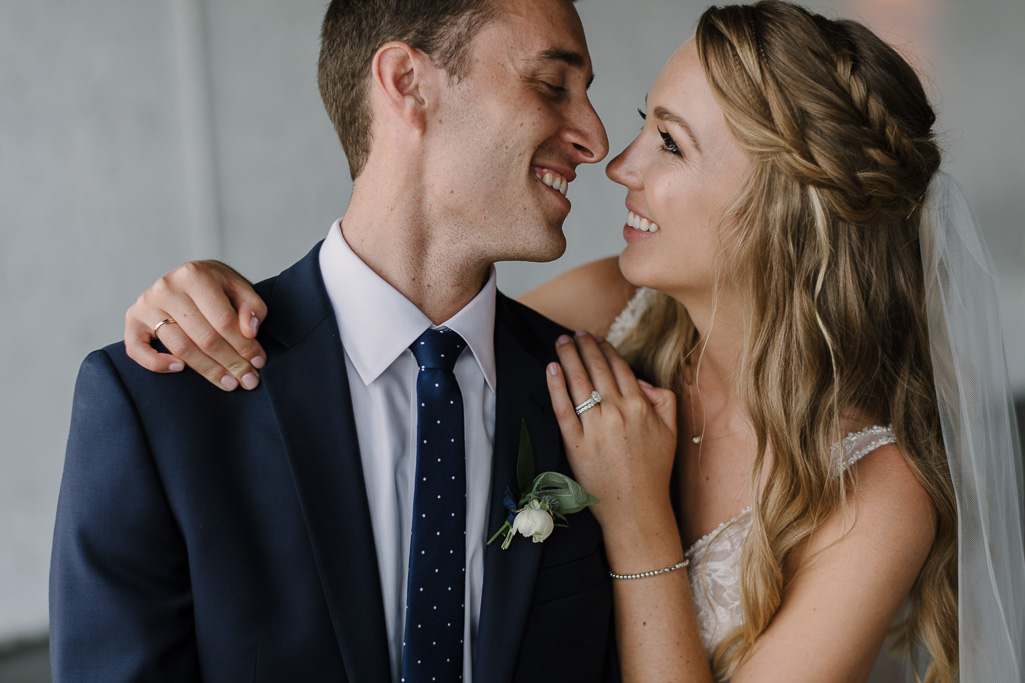 Jen + Connor's Relaxed and Romantic Wedding Day