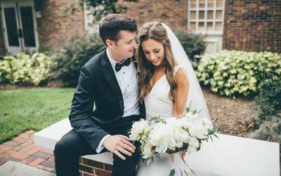 Z+J's Romantic Blush + White Wedding