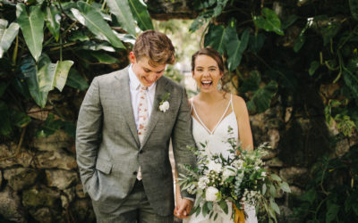 A+T's Bohemian-Inspired Wedding