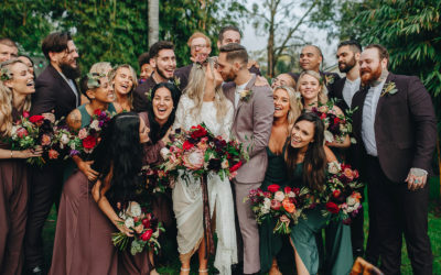 F+J's Jewel-toned Bohemian Celebration