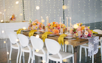 Dance Under The Stars With This Magical Modern Wedding